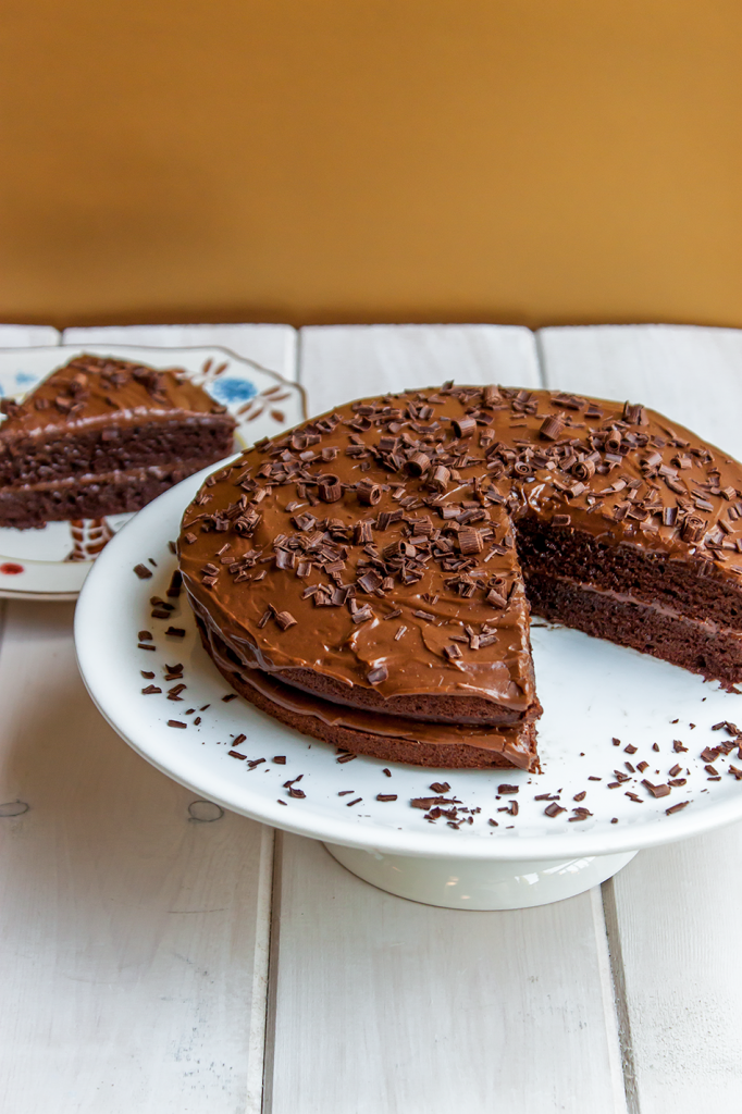 Chocolate Fudge Gluten-Free Cake Recipe