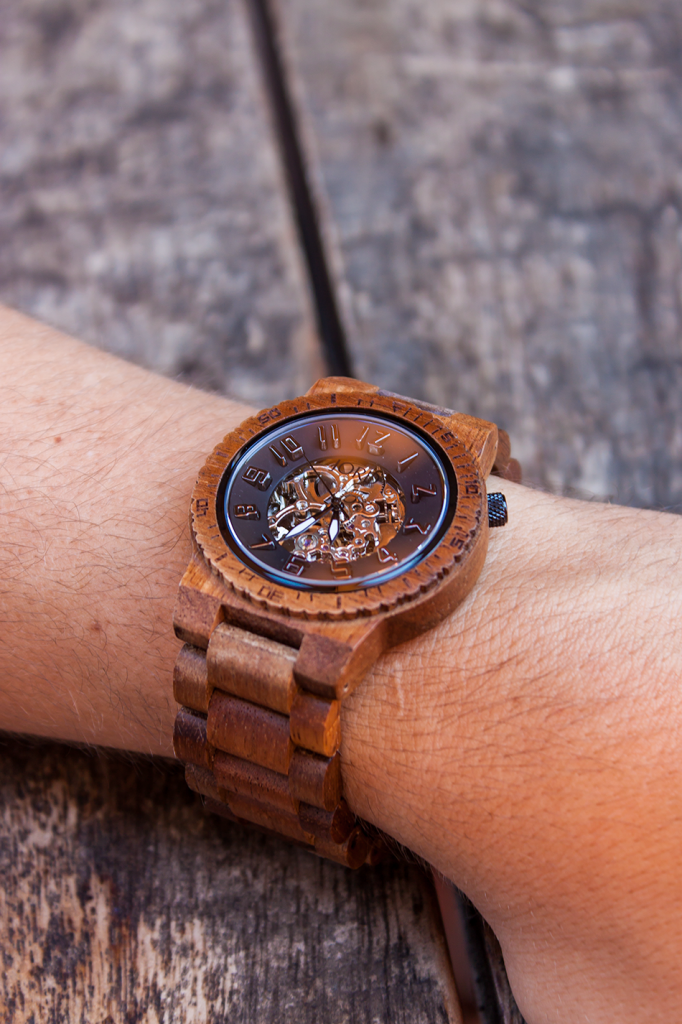 Men's eco-friendly wood watch by JORD