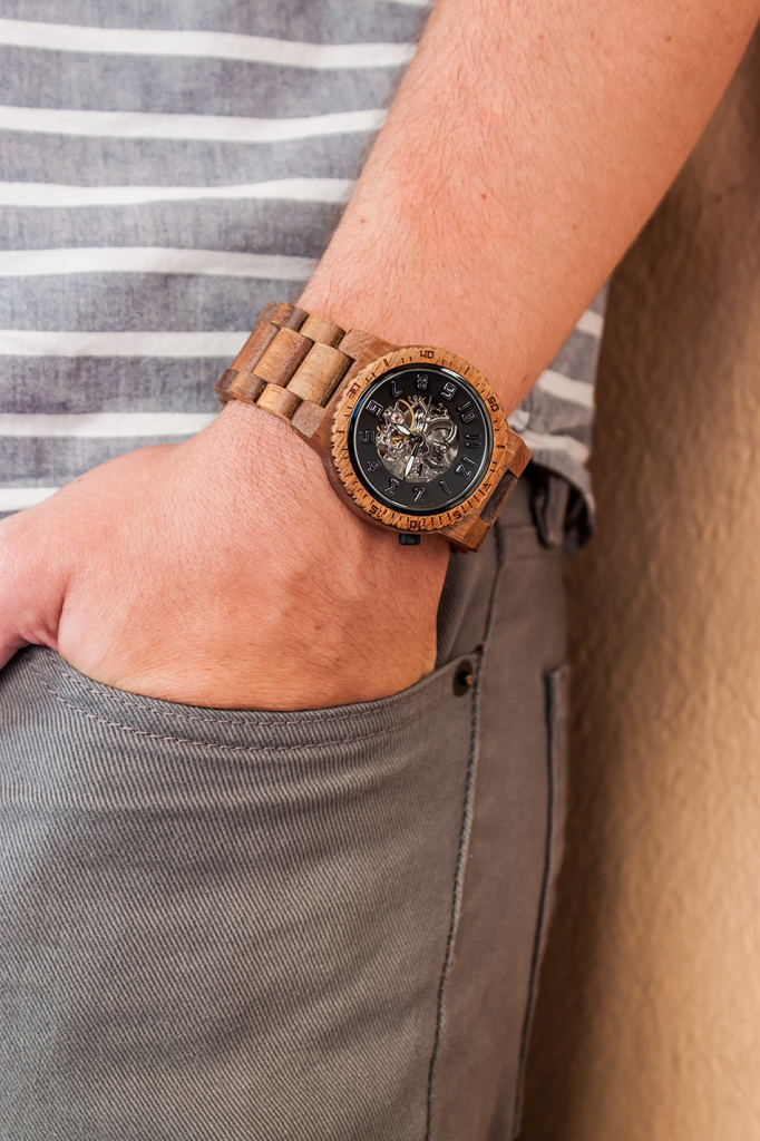 Menswear Eco-Friendly Wood Watch