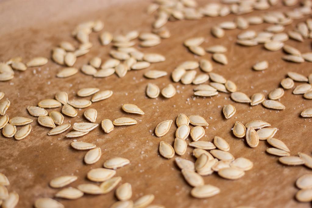 Vegan Gluten-Free Roasted Pumpkin Seeds