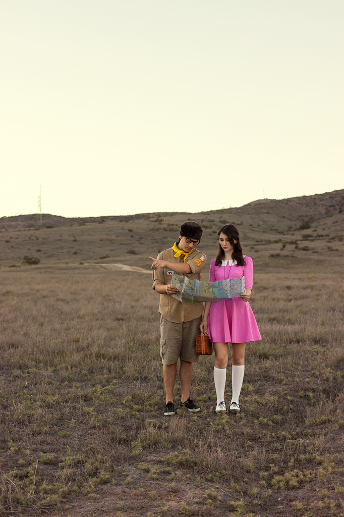 Moonrise Kingdom Sam and Suzy couples costume