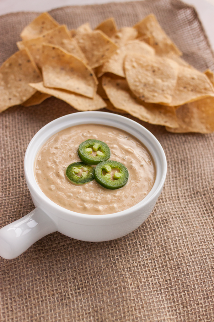 The Best Vegan Queso Recipe: Perfect for nachos or for parties! Gluten-free and nut-free