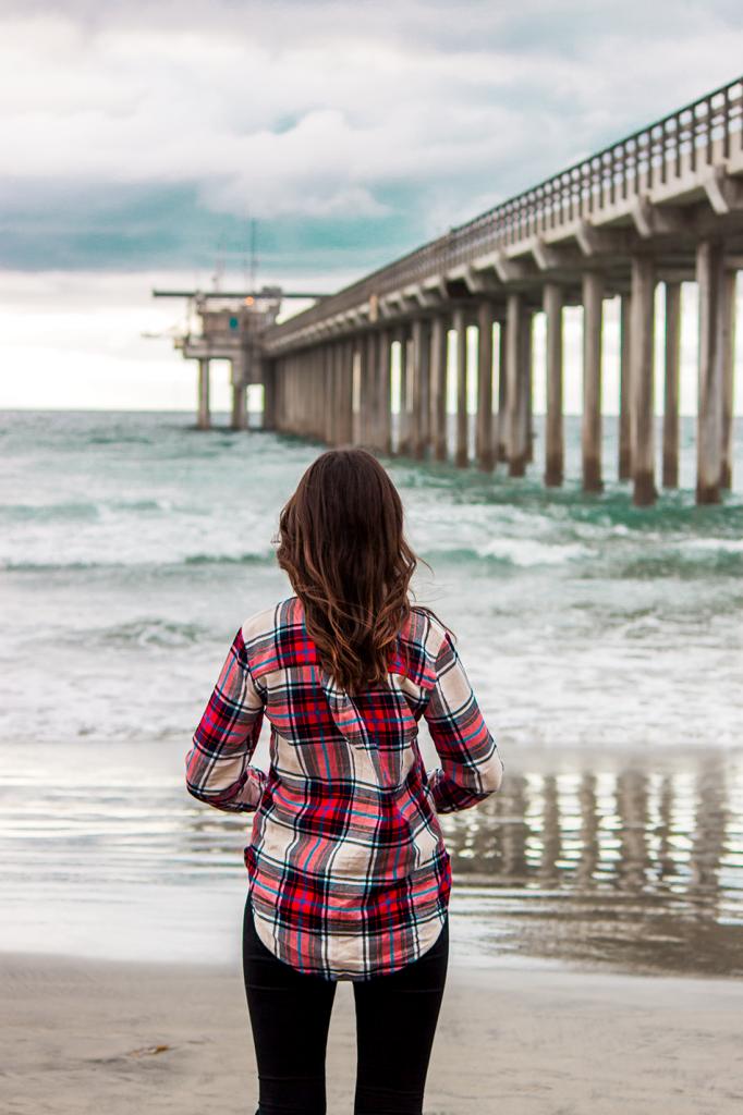 La Jolla Pier, San Diego, California