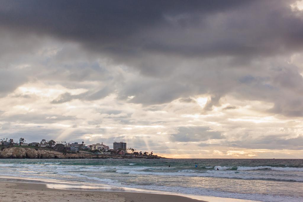 La Jolla shoreline San Diego California