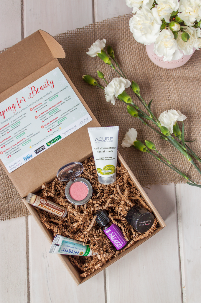 Vegan Cuts Cruelty Free Beauty Box Review and Giveaway