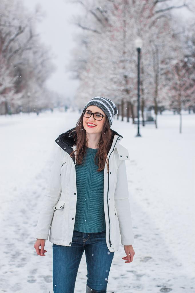 Winter in Salt Lake City Utah