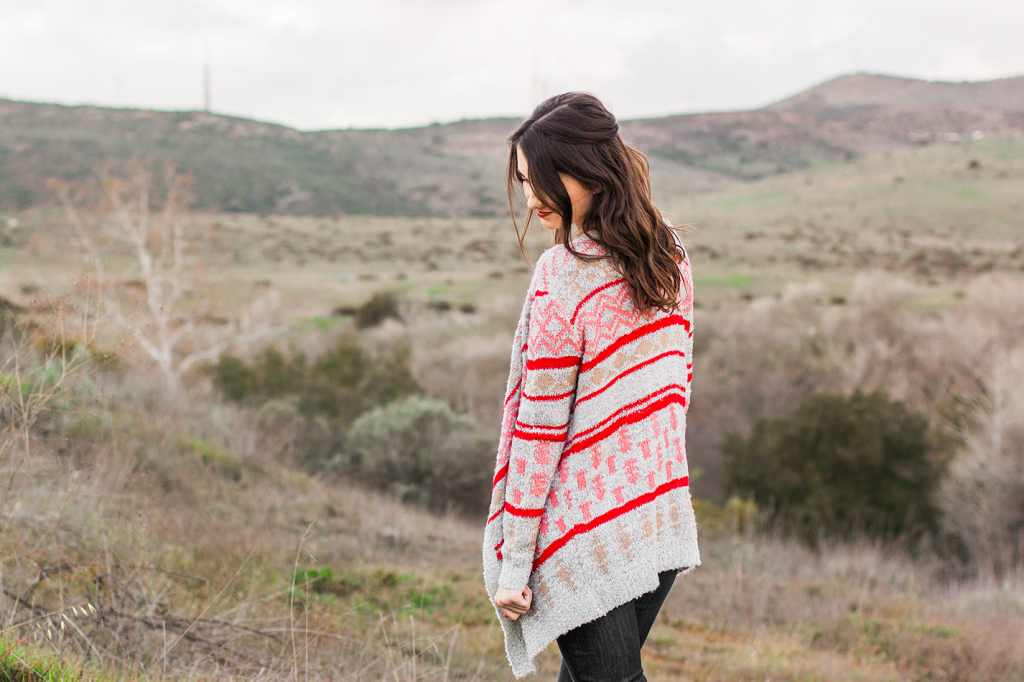 Cute boho vegan sweater