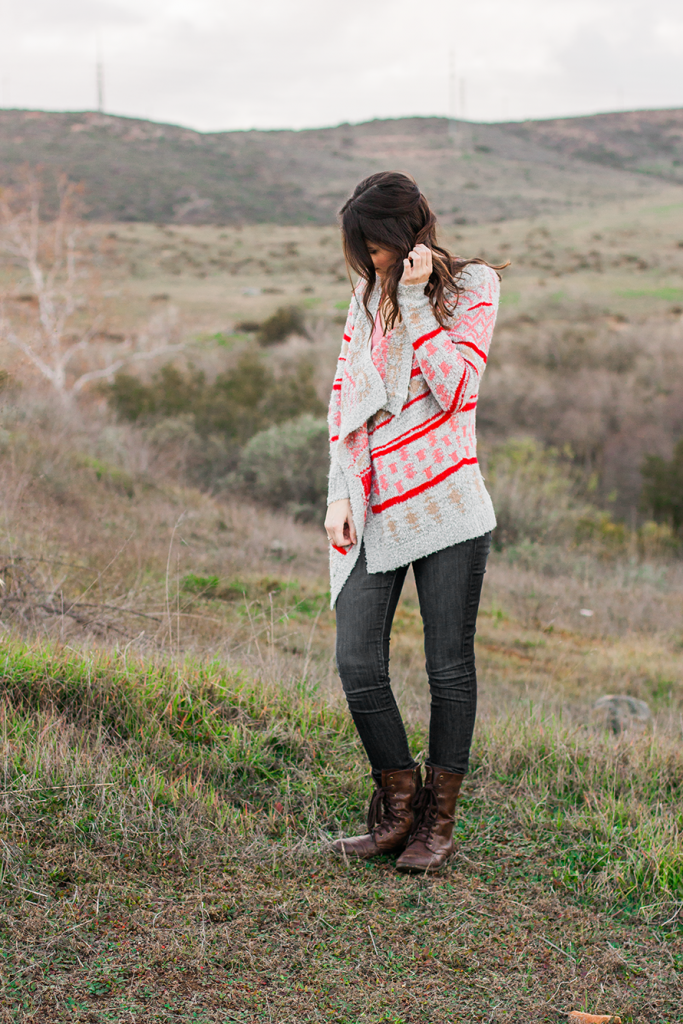 Cozy cruelty-free boho sweater by Woven Heart