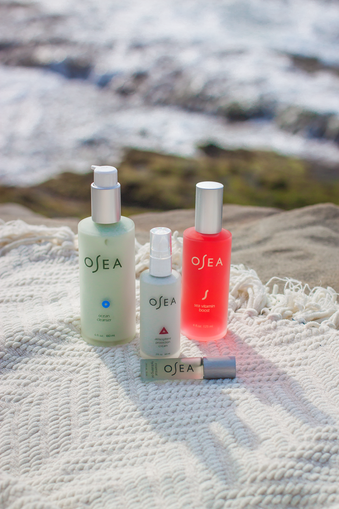 OSEA vegan natural beauty- organic skincare line especially for dry skin. I love this! I felt a difference just after a week