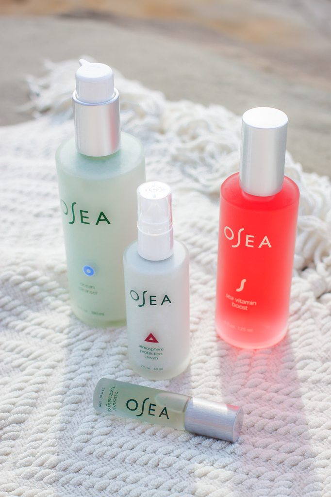 OSEA organic natural beauty- vegan skincare line especially great for dry skin