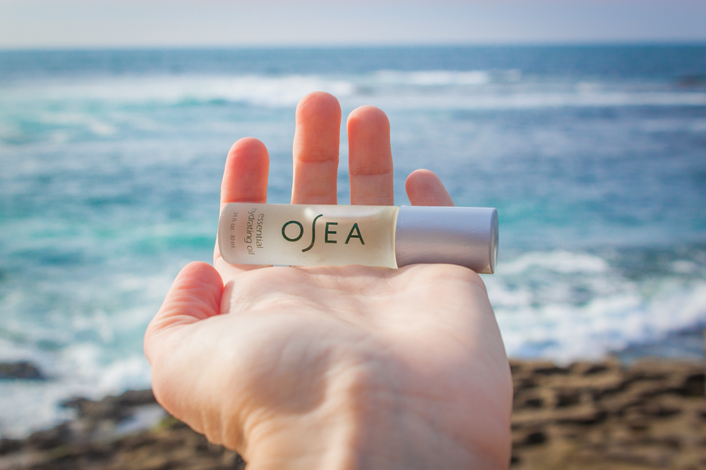 OSEA natural beauty vegan roll on moisture stick. So amazing for dry skin!