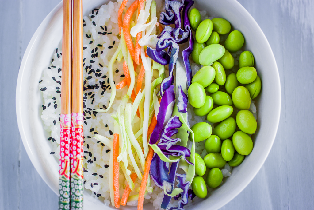 Vegan and Gluten-Free Sushi Bowl Recipe