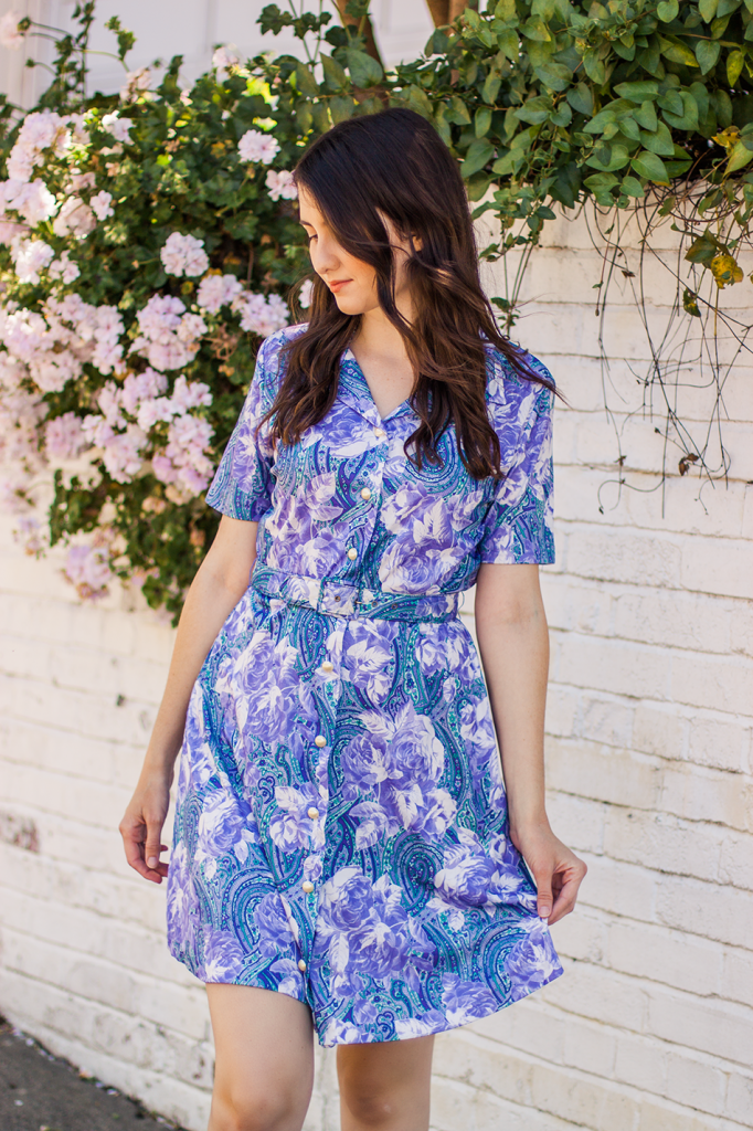 Cute Retro Vintage Dress | Vegan Fashion | Cruelty-Free Clothing