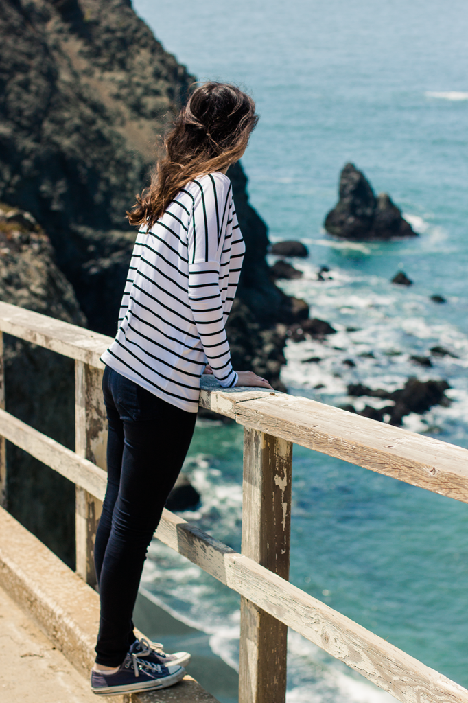 Stripes by the Sea