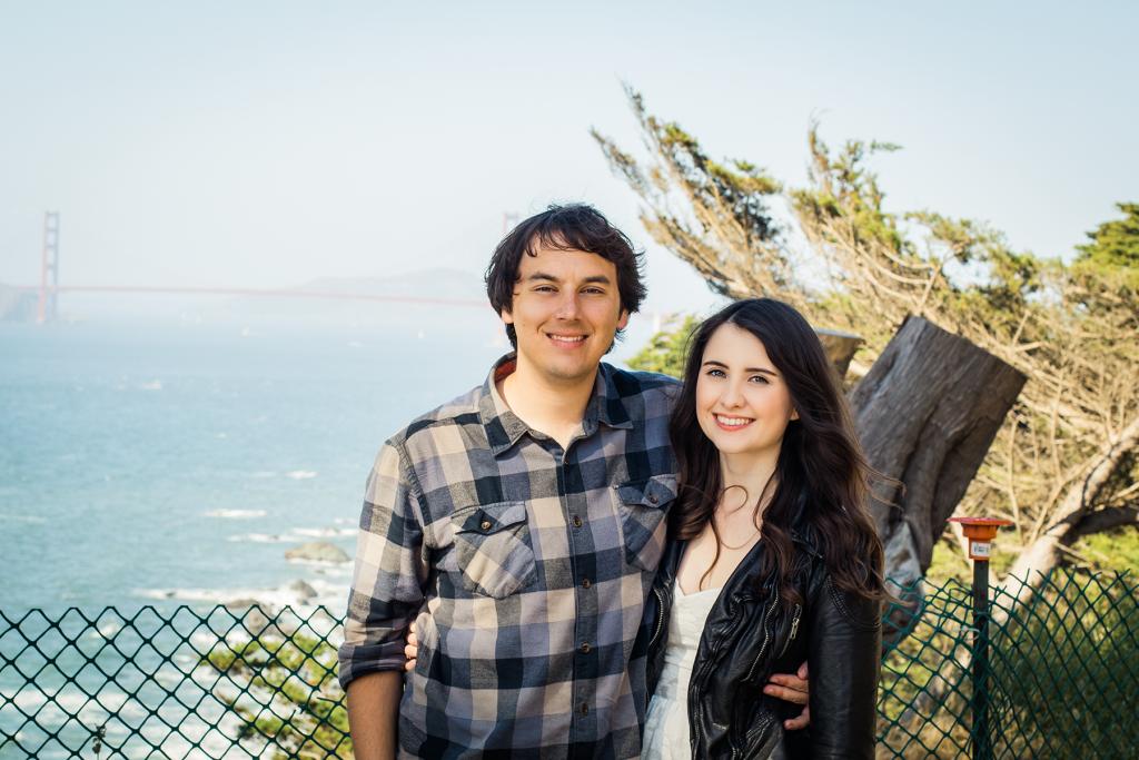 Lands End Trail | Golden Gate Bridge | San Francisco | Travel | Vegan