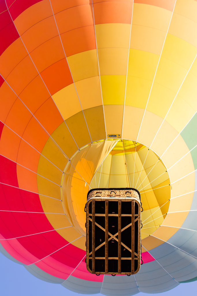 Hot Air Balloon Ride by Vegan À La Mode
