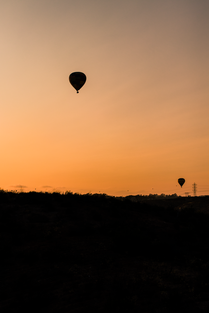 Sunset Hot Air Balloon