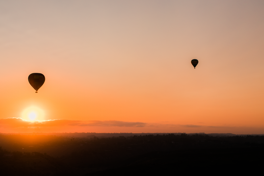 Sunset Hot Air Balloon