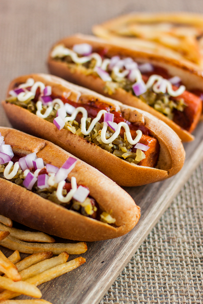 Gluten-Free Vegan Hot Dogs Recipe by Vegan À La Mode