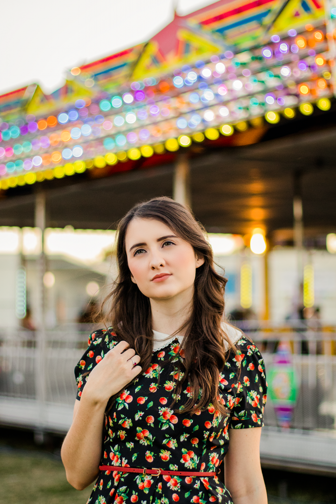 Merry Go Round | Carousel | Dress | Peter Pan Collar | Summer | Vintage | Dress | Floral | Urban Outfitters | Fashion | Cruelty-Free | Outfit