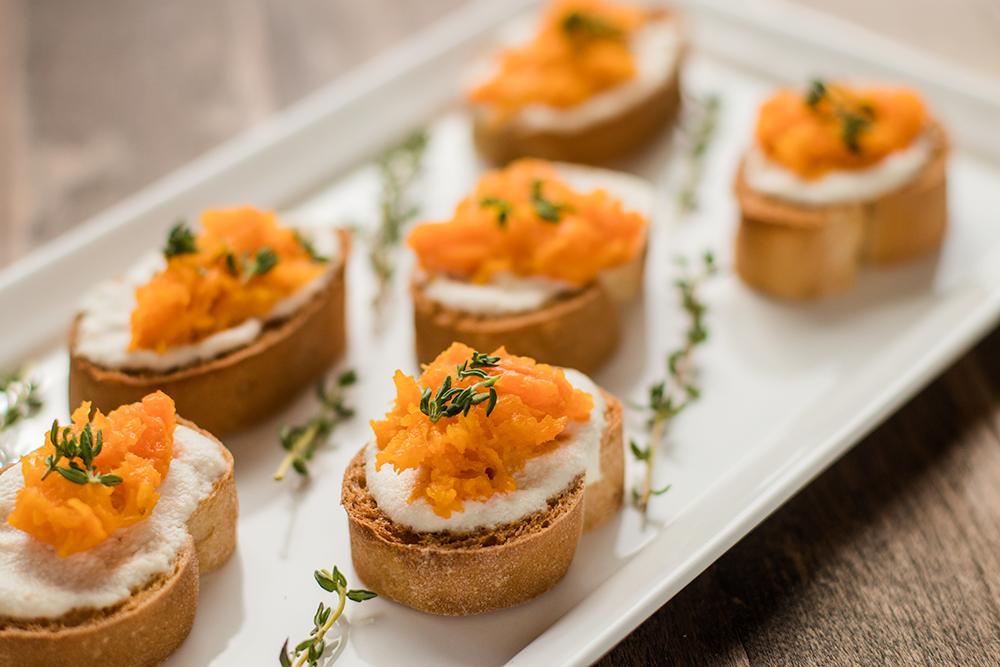 Gluten-Free Butternut Squash Crostini Recipe by Vegan À La Mode