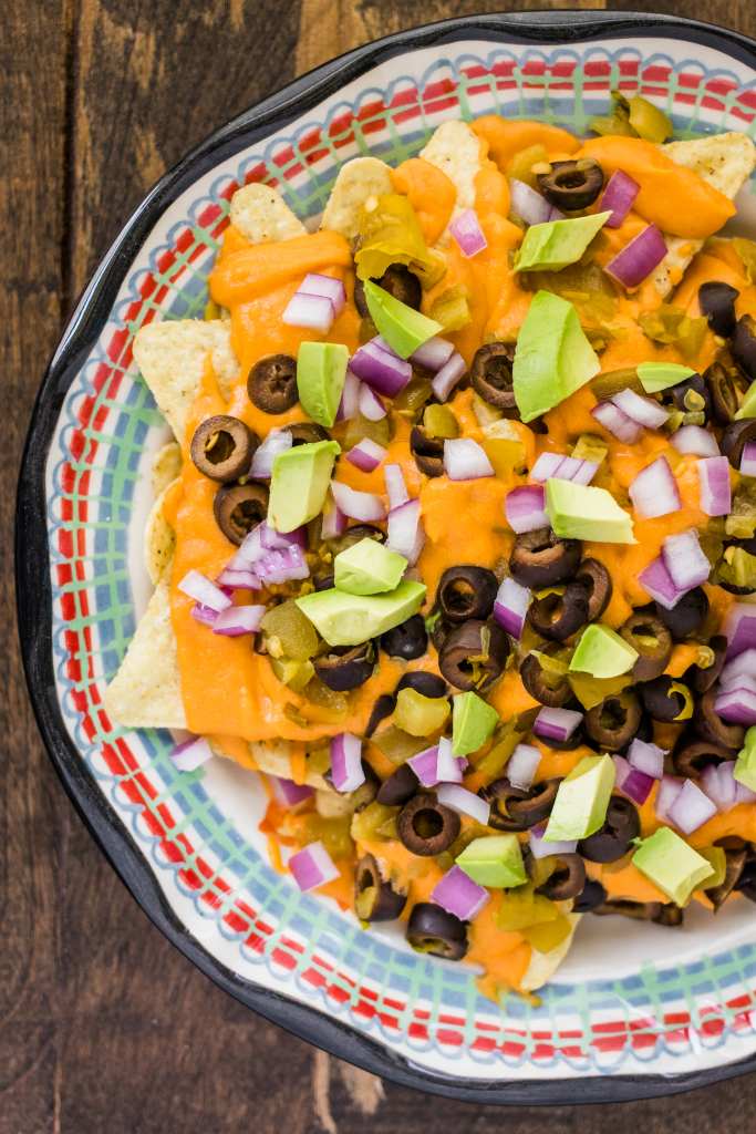 Vegan Nachos with Cheese Sauce from Oh She Glows Every Day