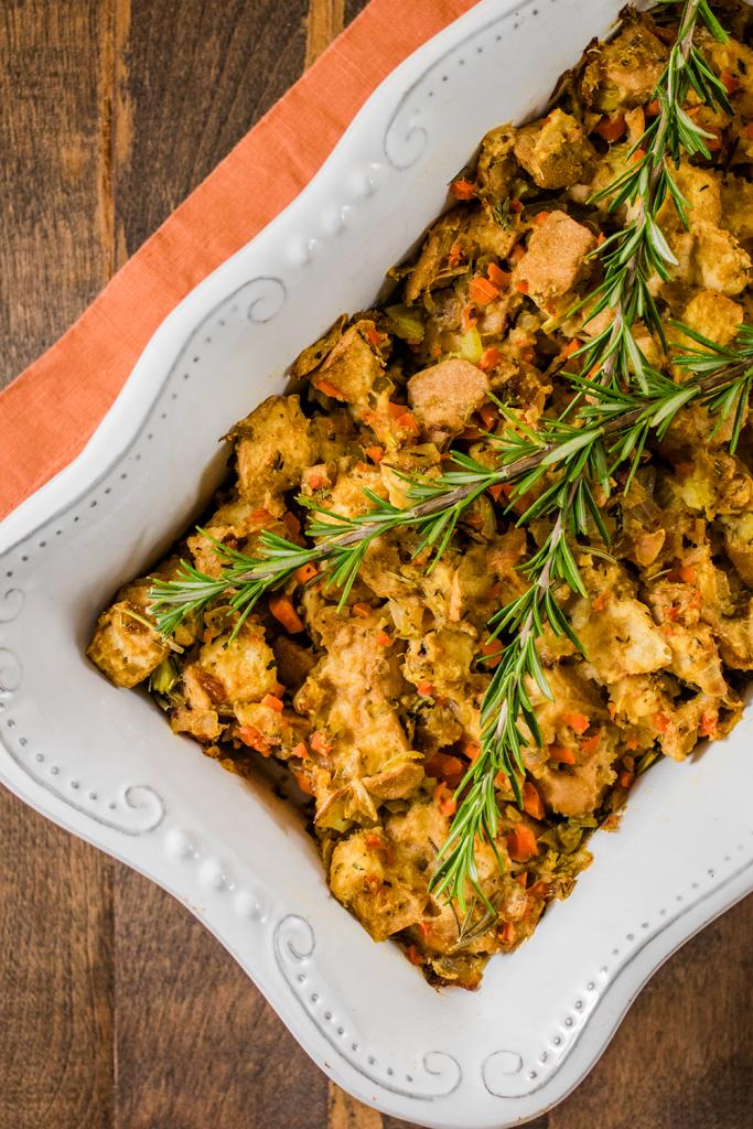 Vegan Thanksgiving Recipe: Gluten-Free Stuffing
