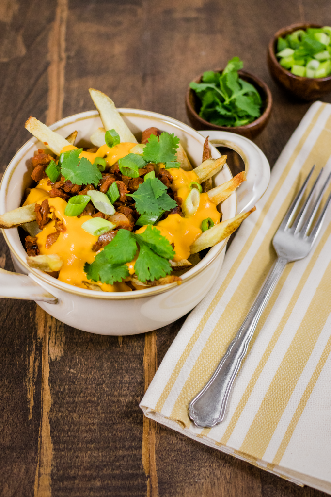 Vegan Chili Cheese Fries Recipe