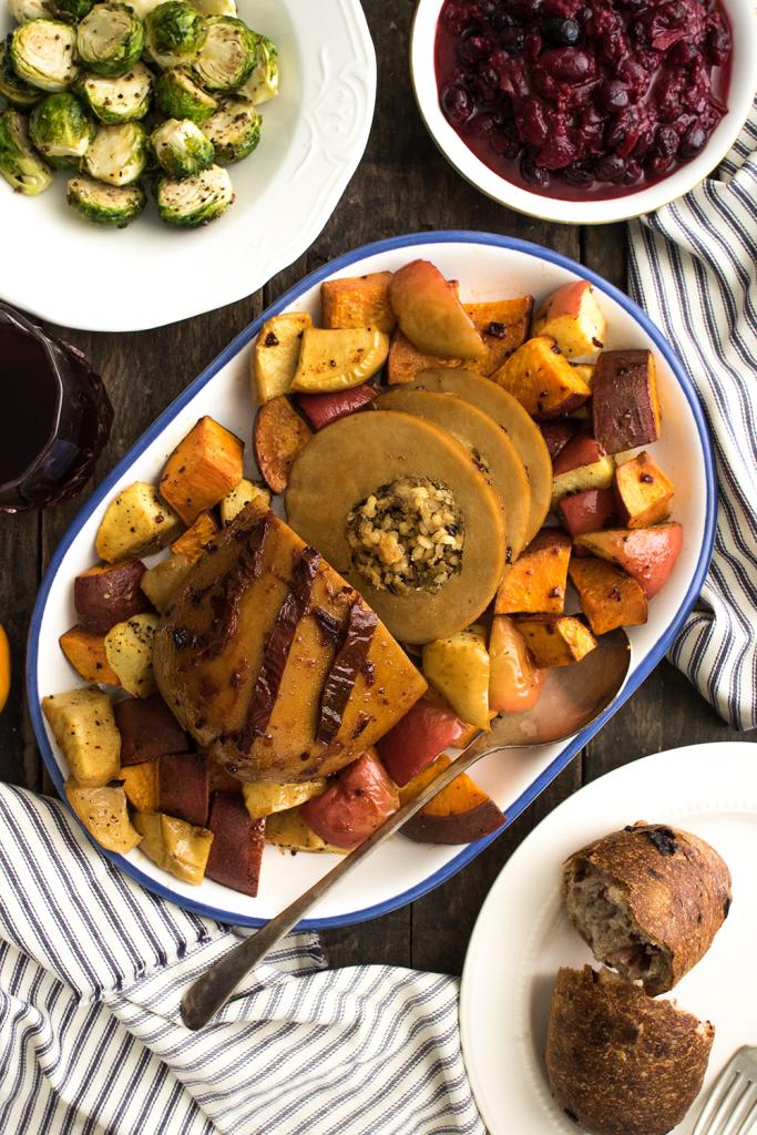 Vegan Thanksgiving Tofurky
