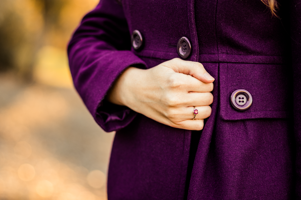Purple Coat | Retro | ModCloth | Cruelty-Free | Winter | Fall