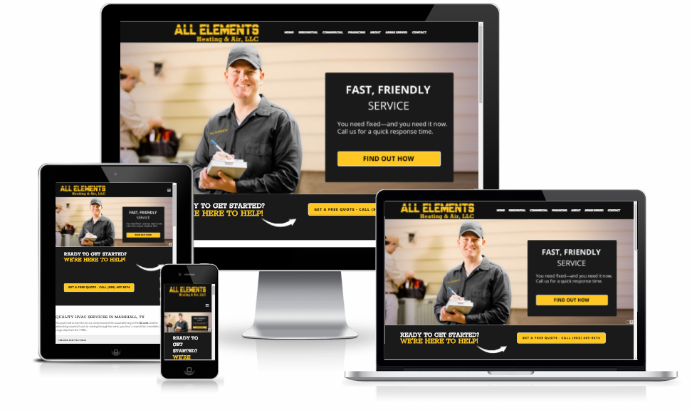 victory lap package mobile responsive web design upfront package
