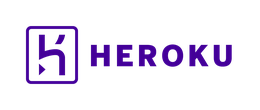 Logo of Heroku