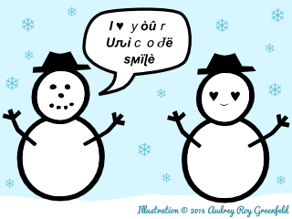 I ♥ your unicode smile
