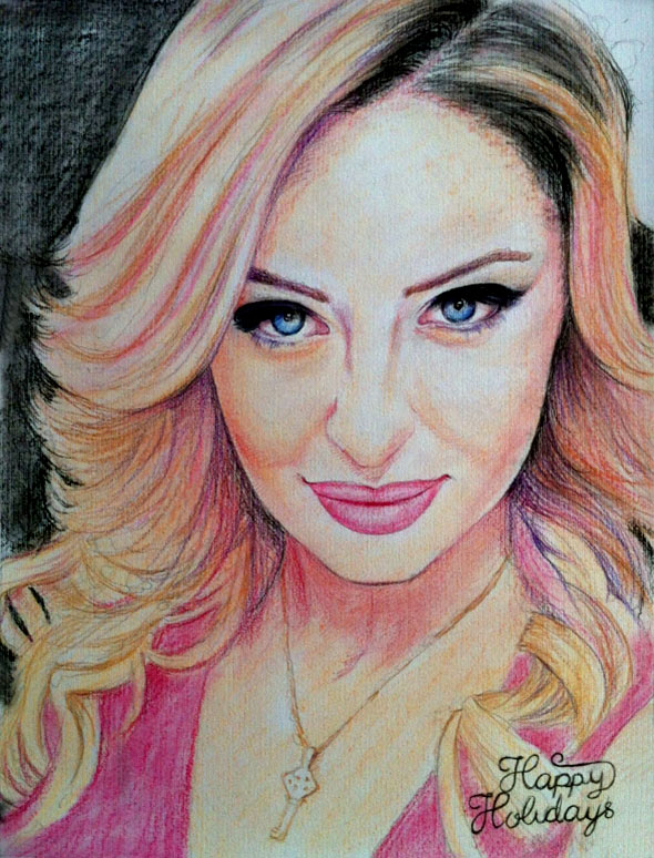 color pencil portrait