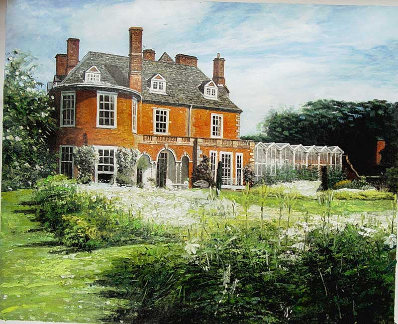 house painting in oil