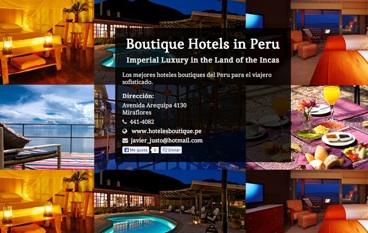 Boutique Hotels in Peru