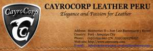 CAYROCORP LEATHER PERU