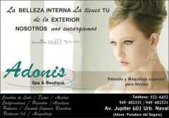 Adonis spa  & boutique