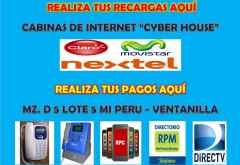 Cabinas de Internet  CYBERHOUSE