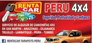 RENTACAR TARAPOTO PERU 4X4