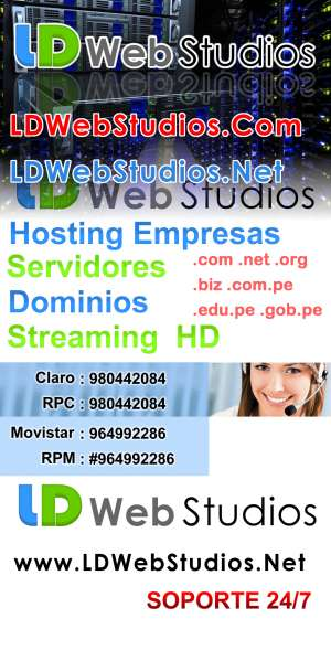 Hosting, Domino, Diseño Web, Streaming