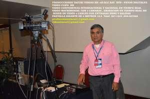 tacuri producciones videograbacion FULL HD CONFERECIAS INTERNACIA NACIONAL FOTOGRAFIA PANTALLA GIGAN