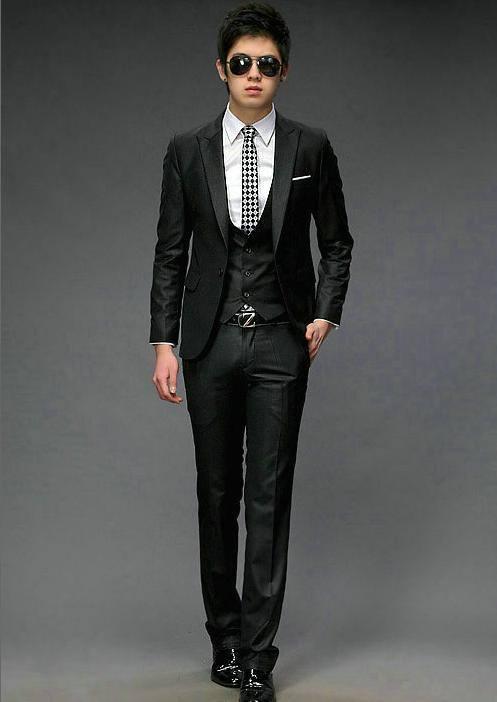 Ternos Coreanos Look Slim Fit Peru 72bdbf19541