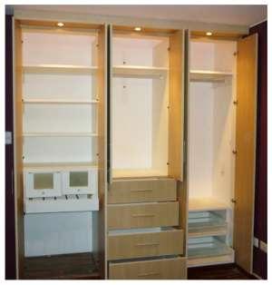 closet y reposteros A-1 en melamina