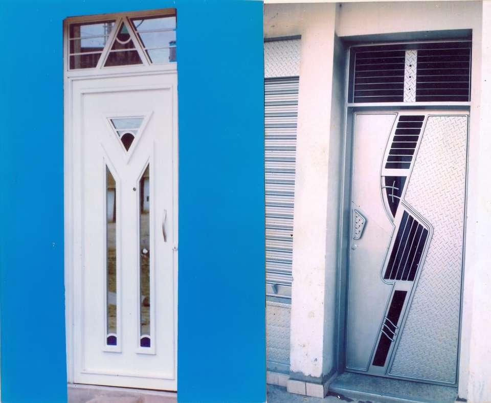 Puertas de fierro puertas de hierro remato protector for Modelos de puertas de fierro modernas