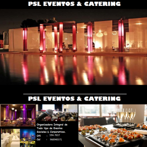 PSL    CATERING & EVENTOS