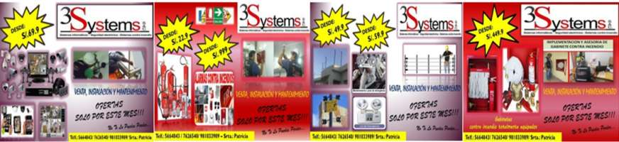 3 SYSTEMS S.A.C