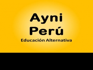 Ayni Perú Educación Alternativa