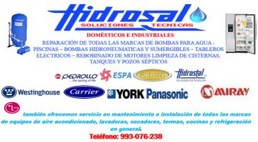 Reparaciones Hidrosal