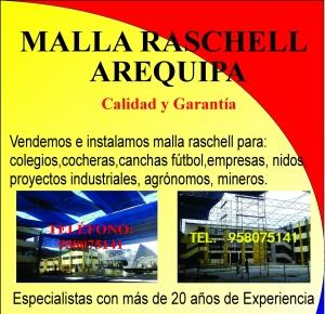 MALLA RASCHEL AREQUIPA Tel.958075141